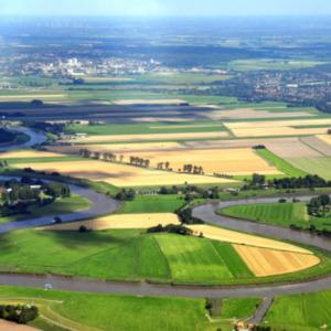 Stör Luftaufnahme von Maike Dudde